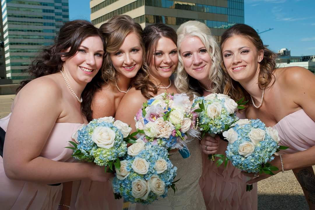 Bridal Party Makeup YEG Edmonton Weddings Eclectica Beauty Astrid Woodard 2