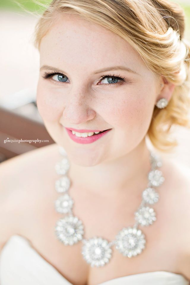 Edmonton fresh pretty natural bridal makeup