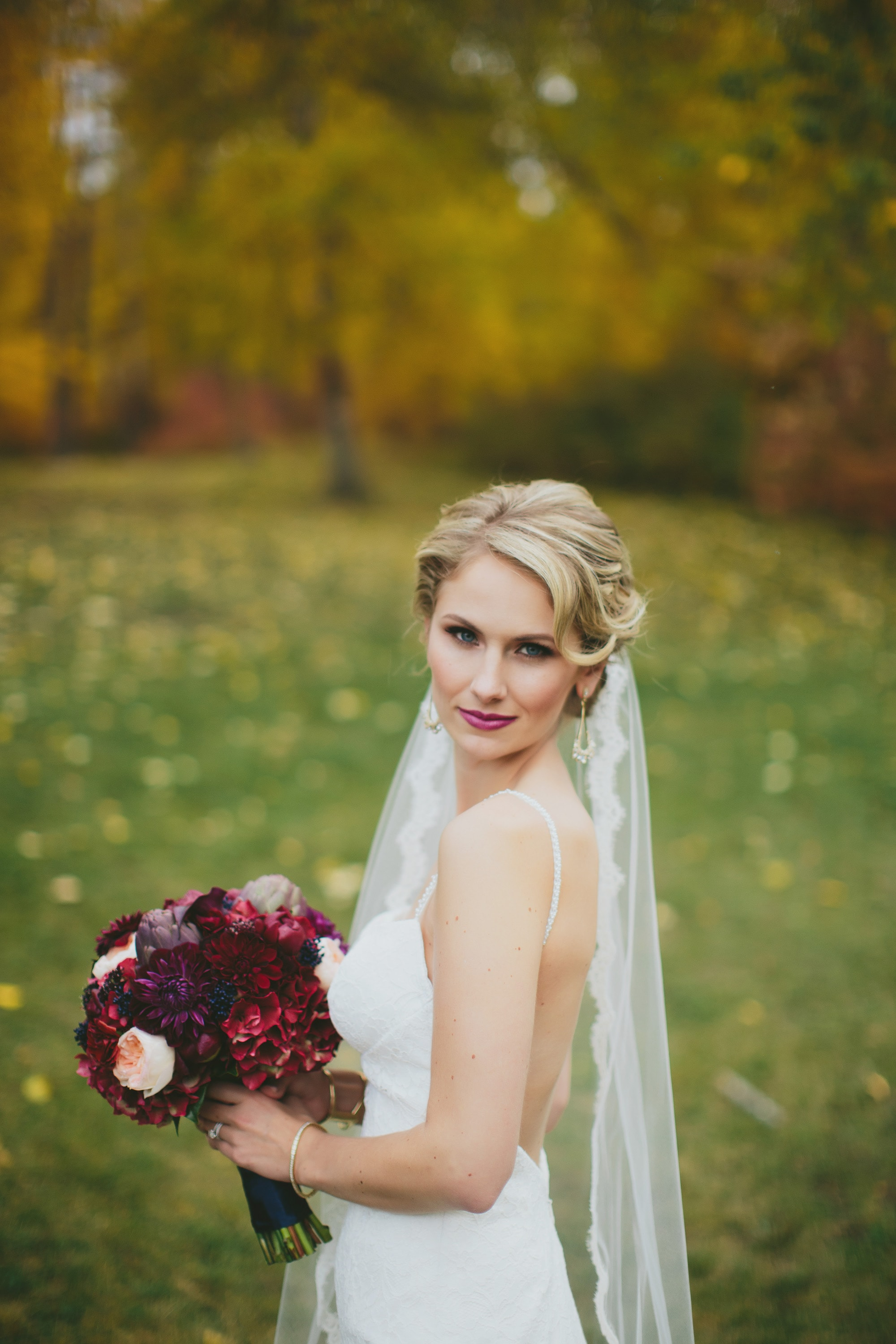 Fall Bride Eclectica Beauty Studio