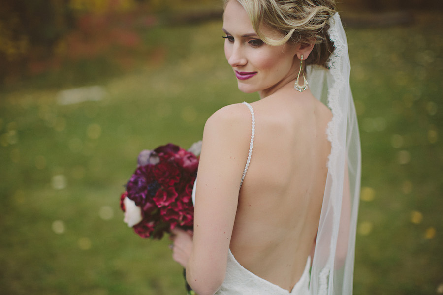 Fall Bridal Makeup YEG Edmonton Weddings Eclectica Beauty Astrid Woodard