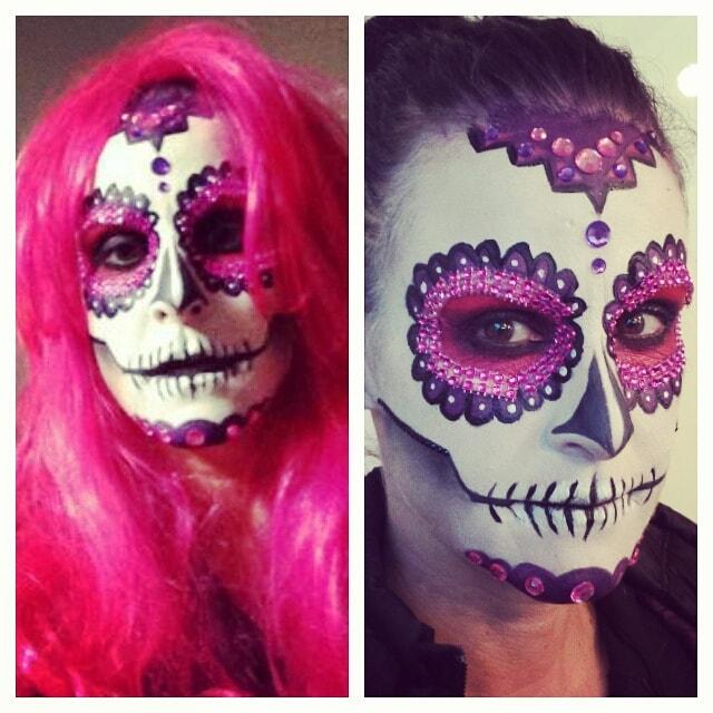 Astrid Woodard Edmonton halloween makeup 1-min