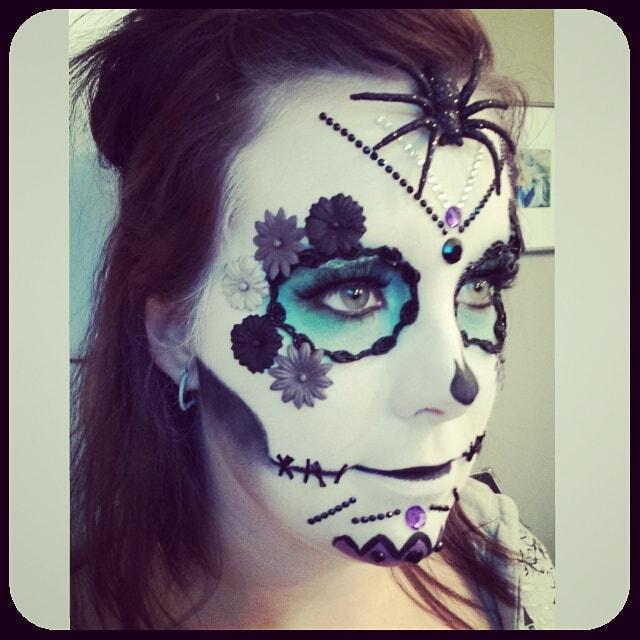 Astrid Woodard Edmonton halloween makeup 11-min