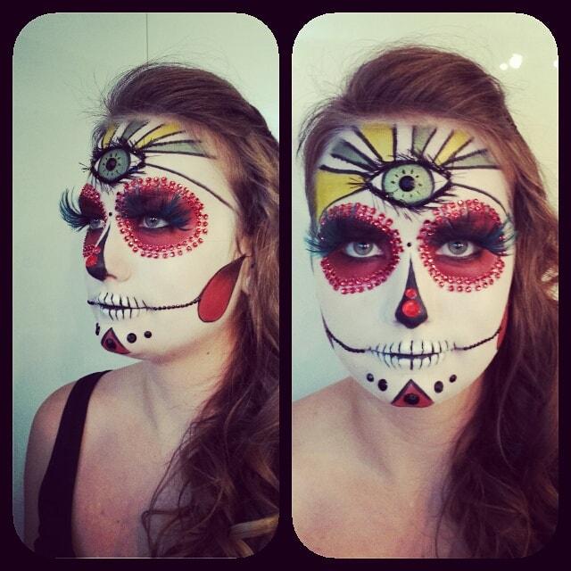 Astrid Woodard Edmonton halloween makeup 12-min