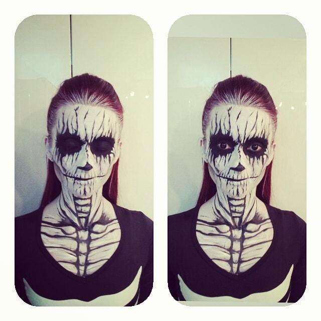 Astrid Woodard Edmonton halloween makeup 2-min