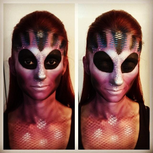 Astrid Woodard Edmonton halloween makeup 3-min