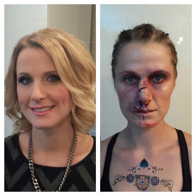Astrid Woodard Edmonton halloween makeup 6-min