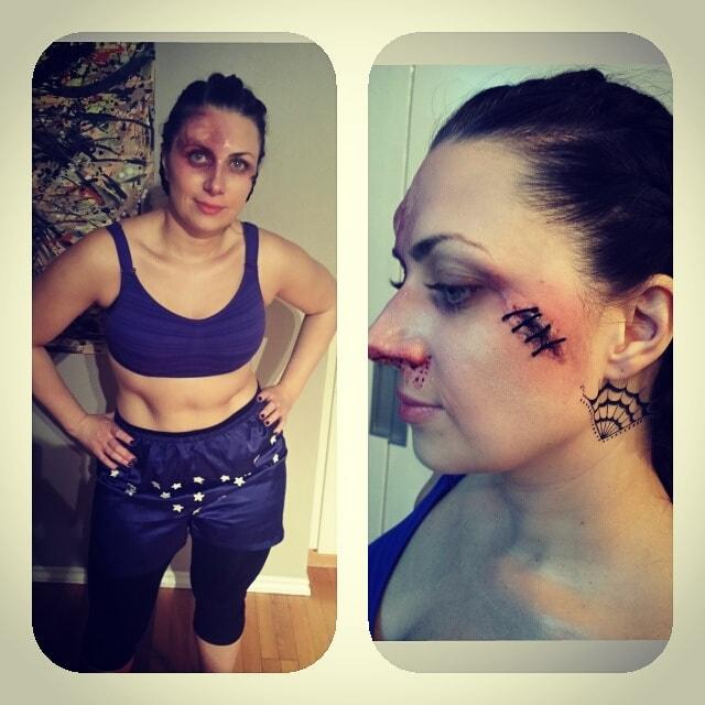 Astrid Woodard Edmonton halloween makeup 8-min