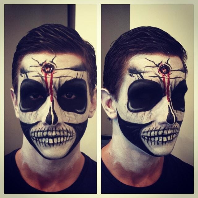 Astrid Woodard Edmonton halloween makeup 9-min