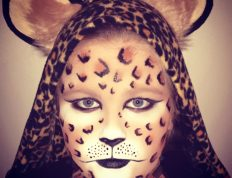Image of Eclectica Beauty Studio Halloween Makeup FX Tiger