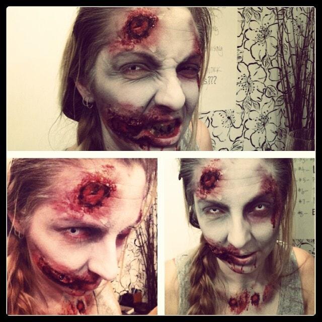 Zombie Halloween Makeup Edmonton-min