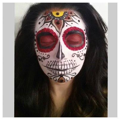 sugar skull halloween makeup eclectica-min