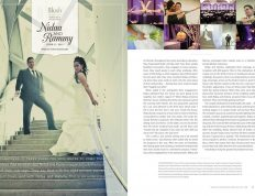 Image of Eclectica Beauty Studio Edmonton wedding bridal makeup blush magazine