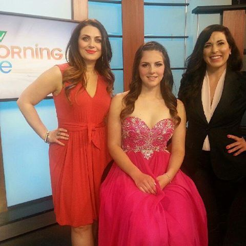 CTV Morning Live Edmonton Grad Makeup