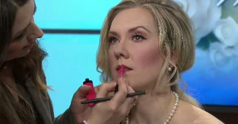 CTV Morning Live Edmonton Wedding Makeup