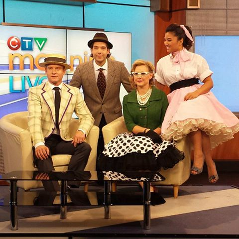 CTV Morning Live Edmonton costume makeup