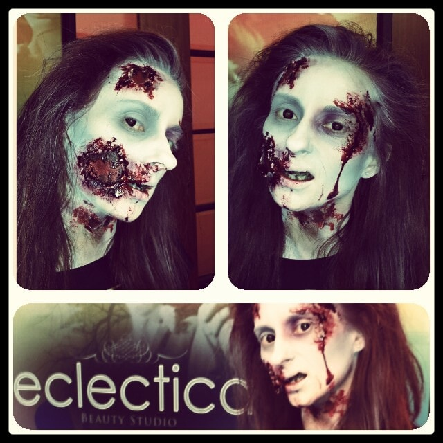 Edmonton Halloween makeup CTV-min