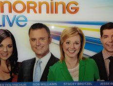 Image of Eclectica Beauty Studio Edmonton commercial makeup CTV Morning Live