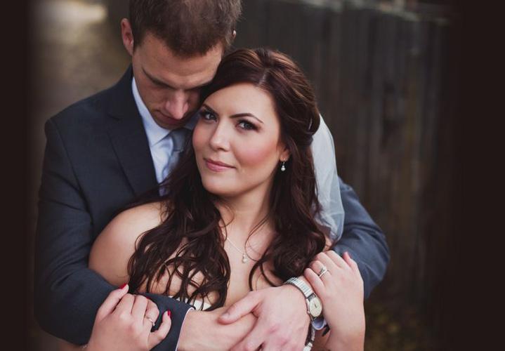Eclectica Beauty Studio Edmonton wedding bridal makeup