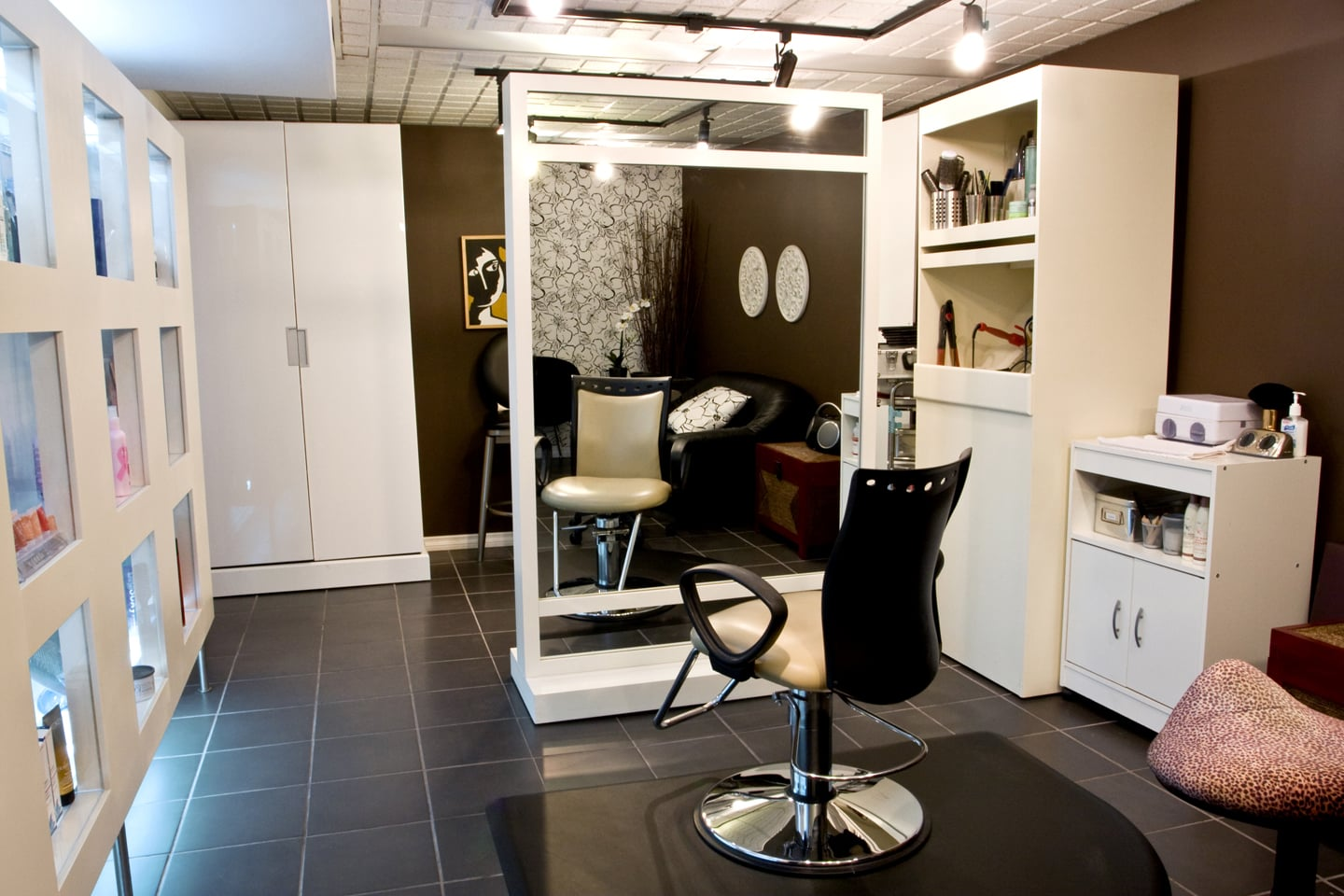 Eclectica Beauty Studio Interior Space